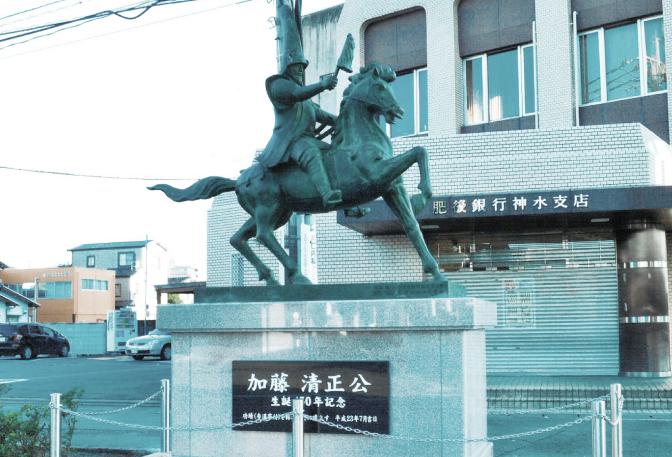 生誕450年 加藤清正公 銅像